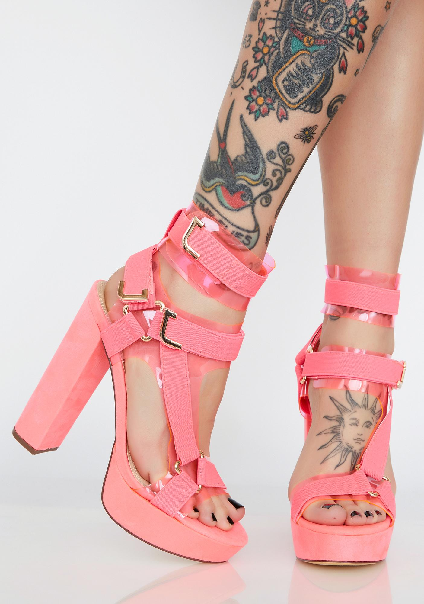 Candy Revenge Plot Platform Heels
