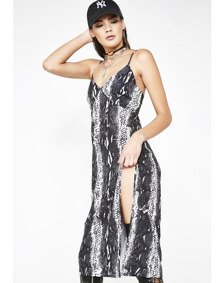 Venom Slip Dress