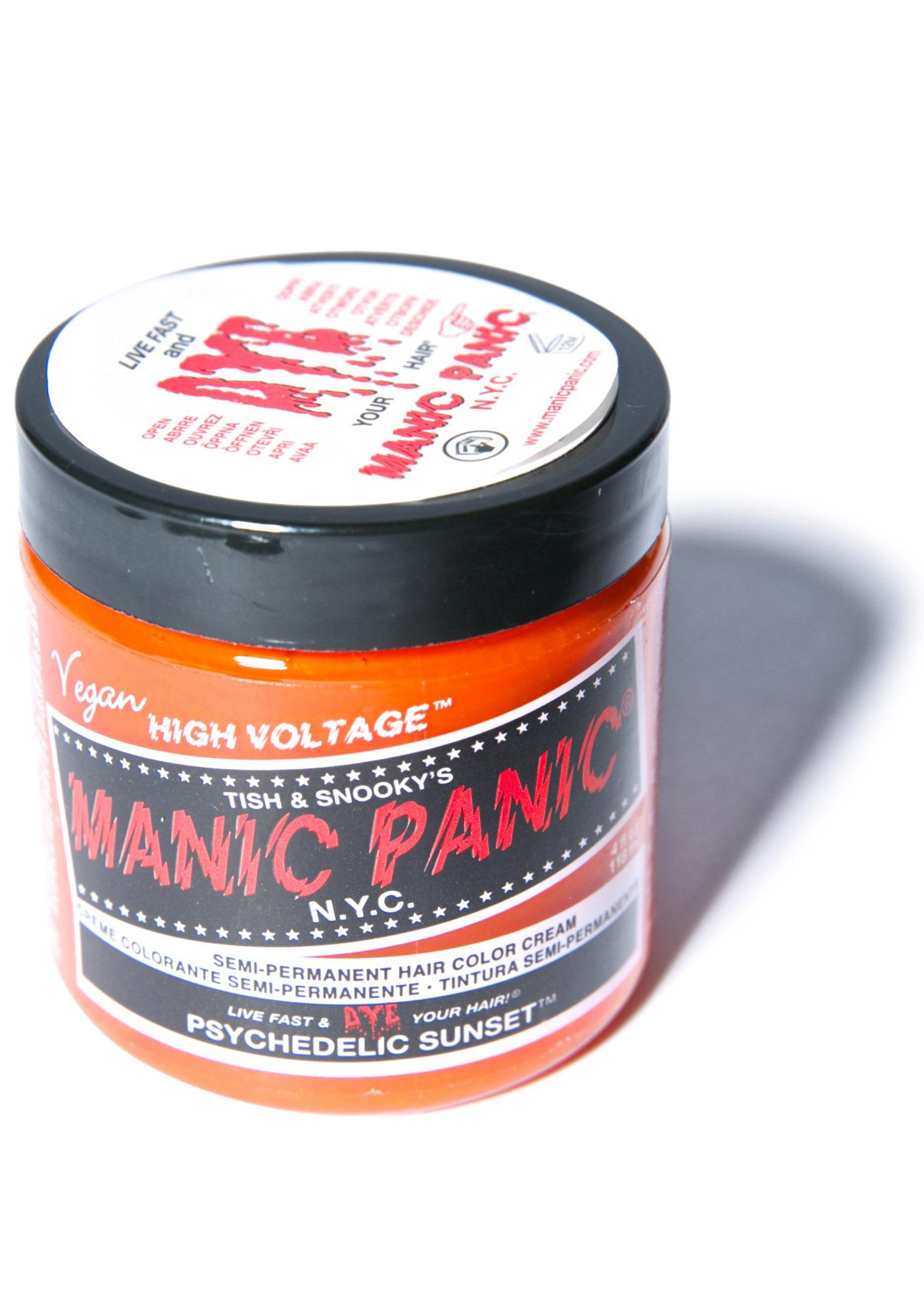 Manic Panic Psychedelic Sunset Classic Hair Dye