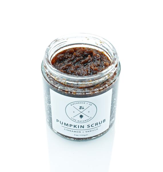 Birchrose + Co Pumpkin Body Scrub