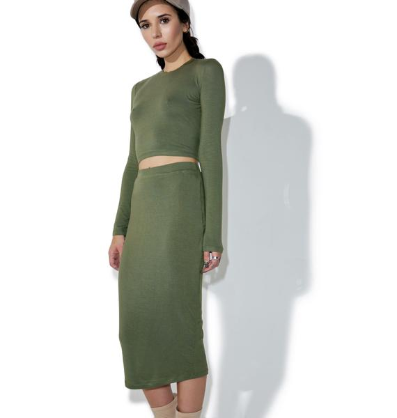 BLQ BASIQ Swift Pencil Skirt
