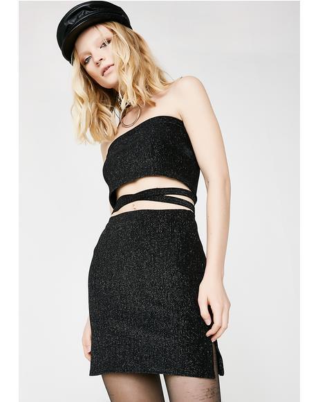 Cyber Me Mini Skirt