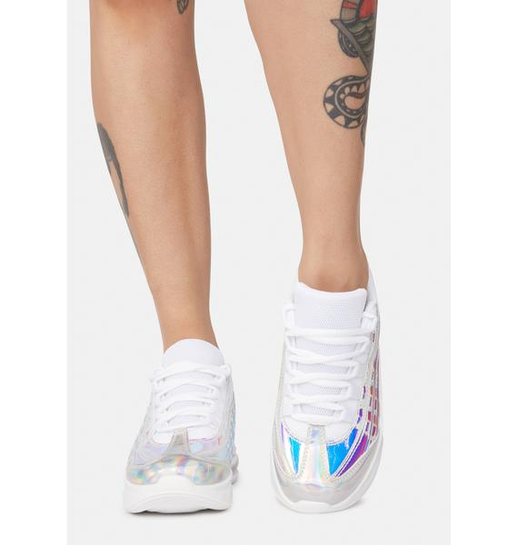 Downshifter Holographic Sneakers