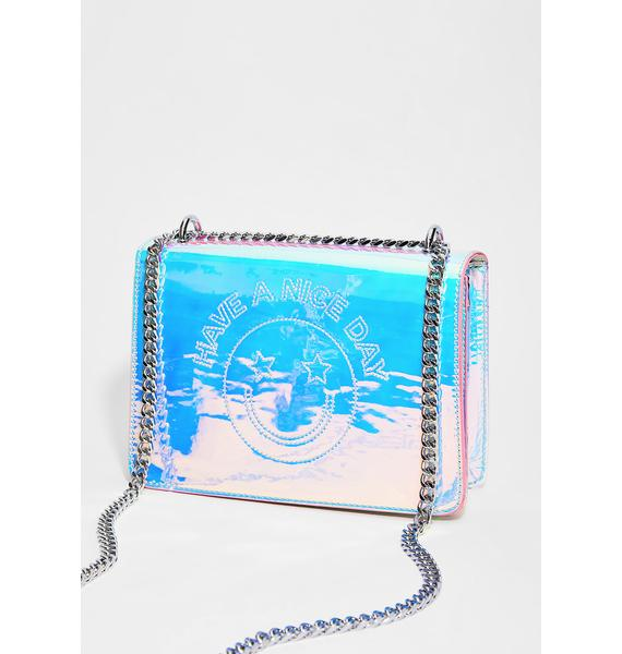 Skinnydip Have A Nice Day Crossbody Bag