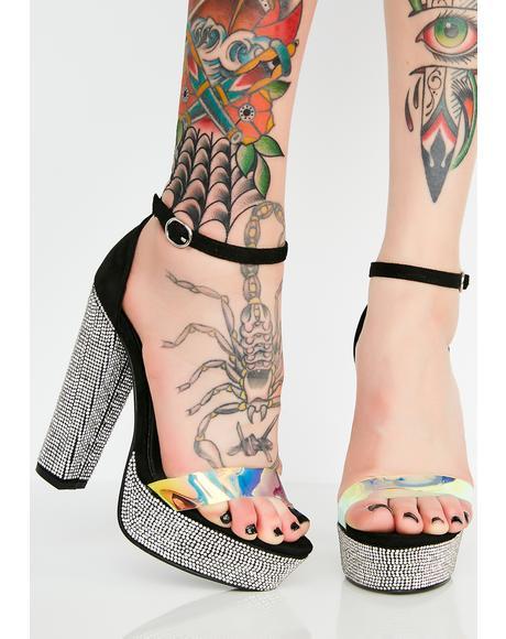 Bound To Platform Heels