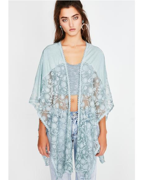 Kush Dandelion Dream Lace Poncho