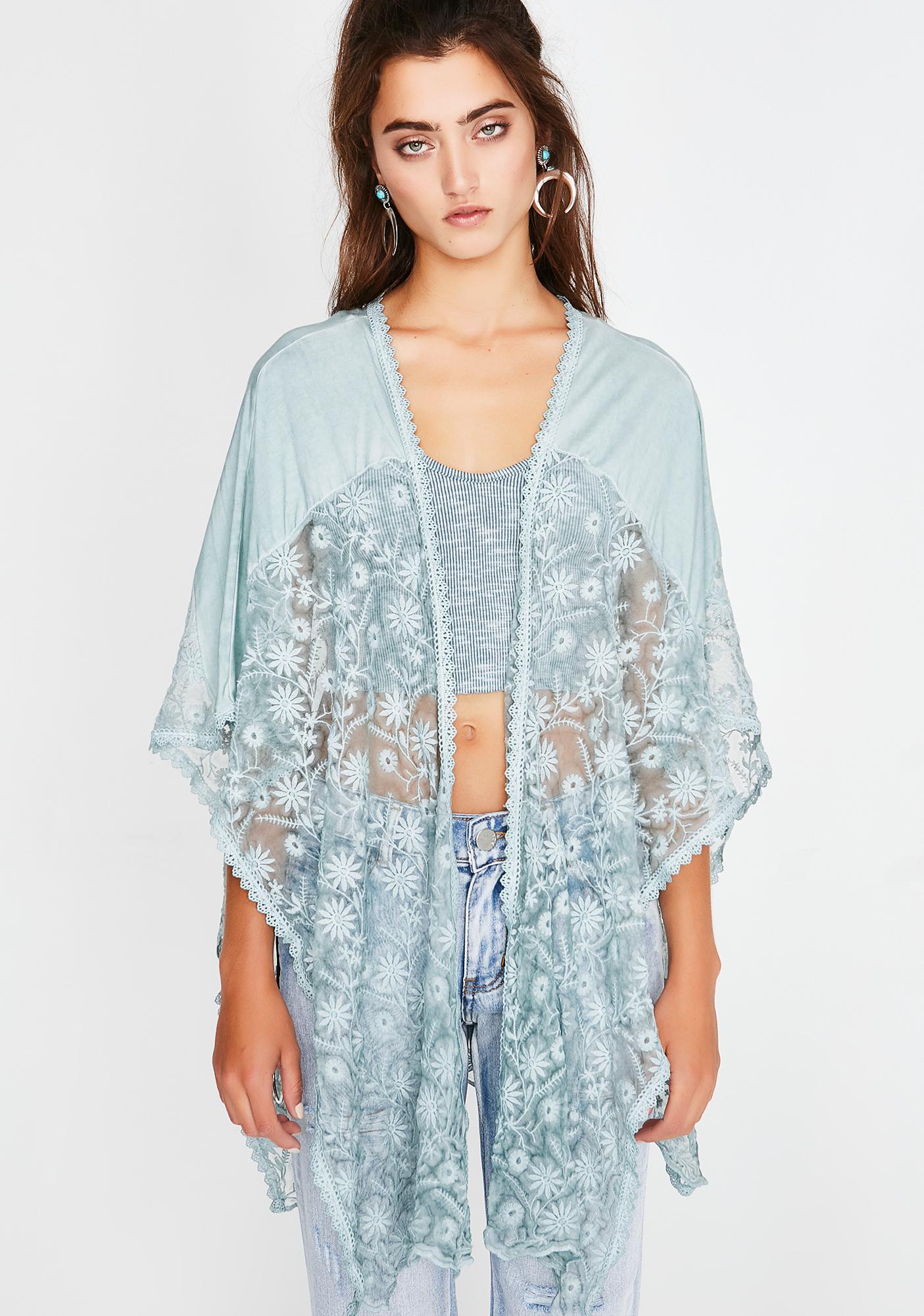 Kush Dandelion Dream Lace Poncho