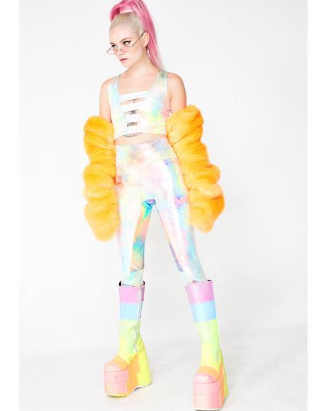 Mystic Tie Dye Leggings