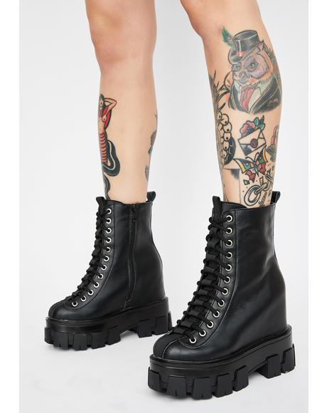 Sour Diesel Platform Boots