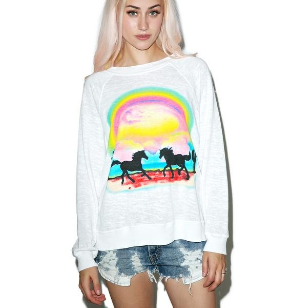 Wildfox Couture Pony Dream Kim's Sweater
