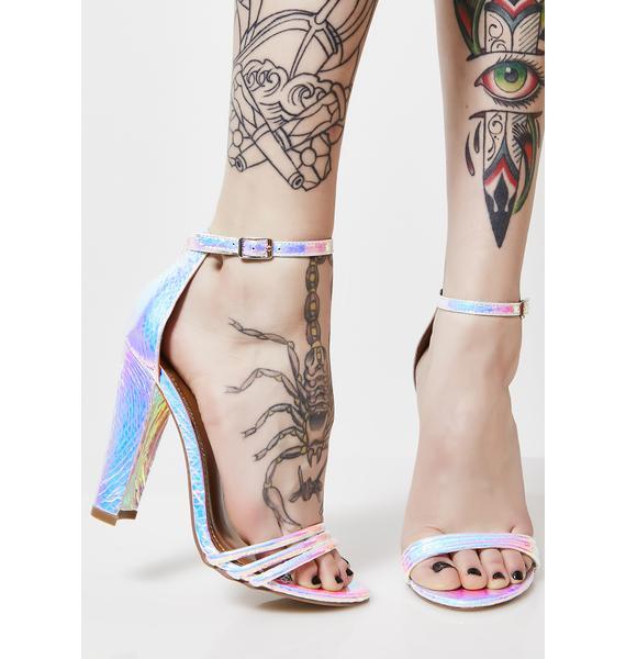 Mystical Mermaid Strap Heels