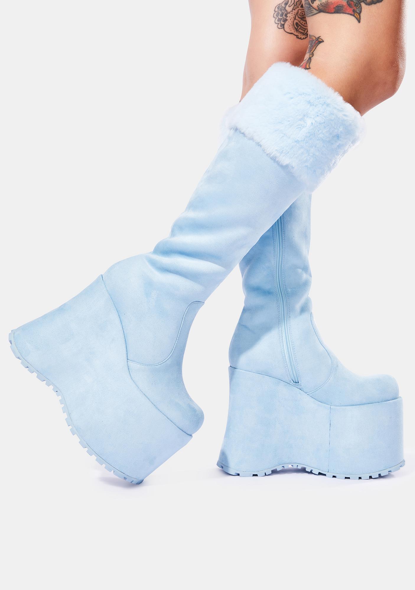 Club Exx Blizzard Babe Knee High Boots