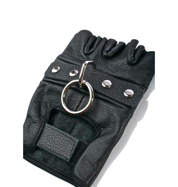 Hitman Fingerless Gloves
