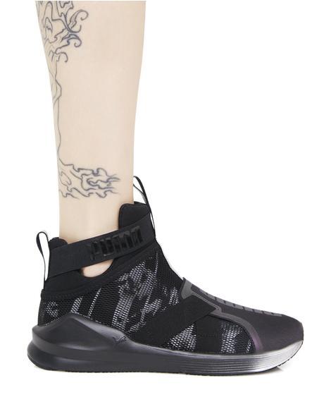 Fierce Strap Swan Sneaker