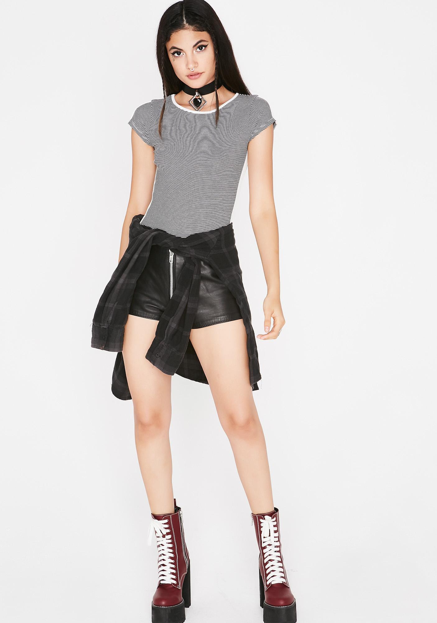 Talk That Talk Stripe Bodysuit