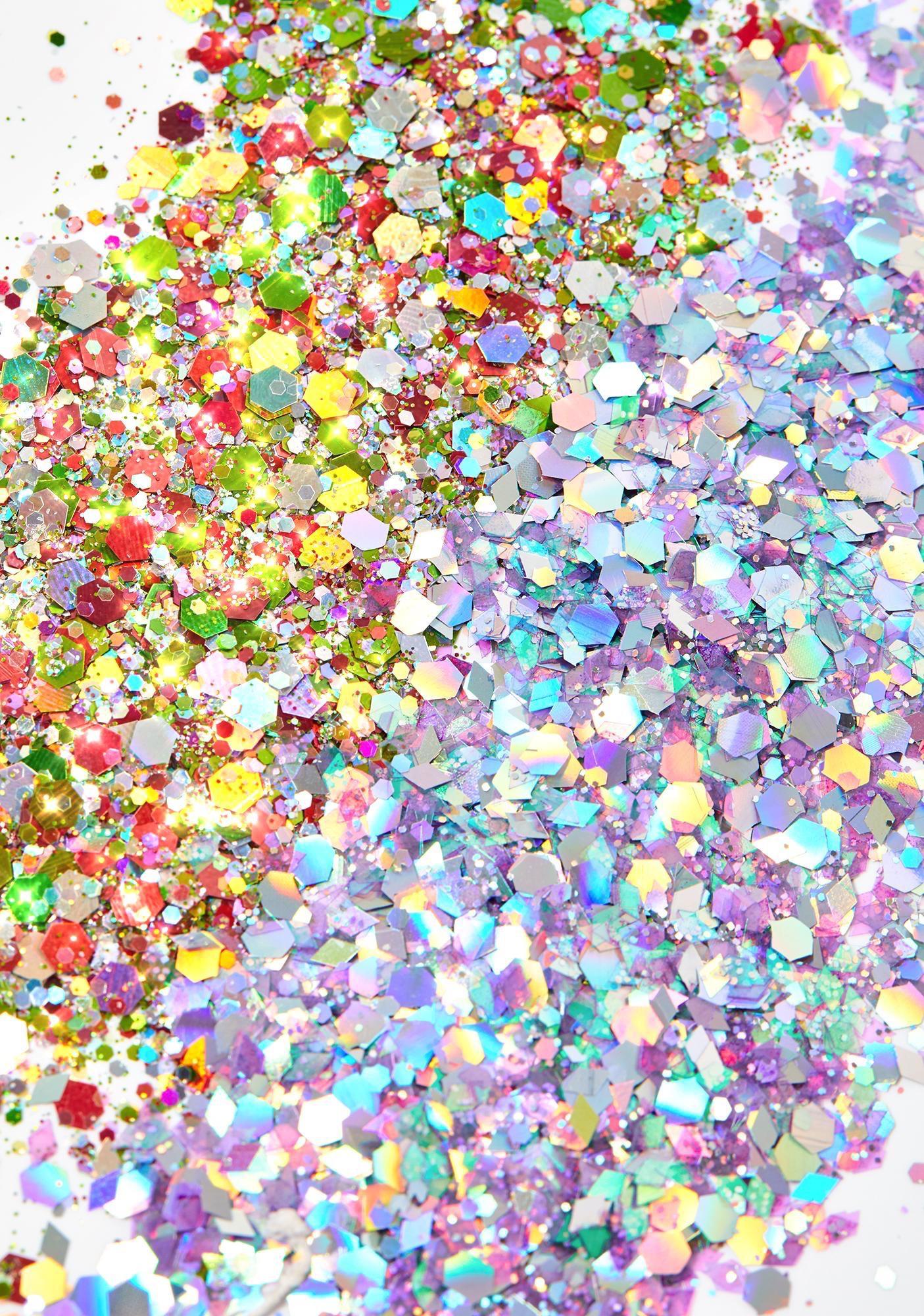 Love Groove Rainbow Pasties N' Loose Glitter Set