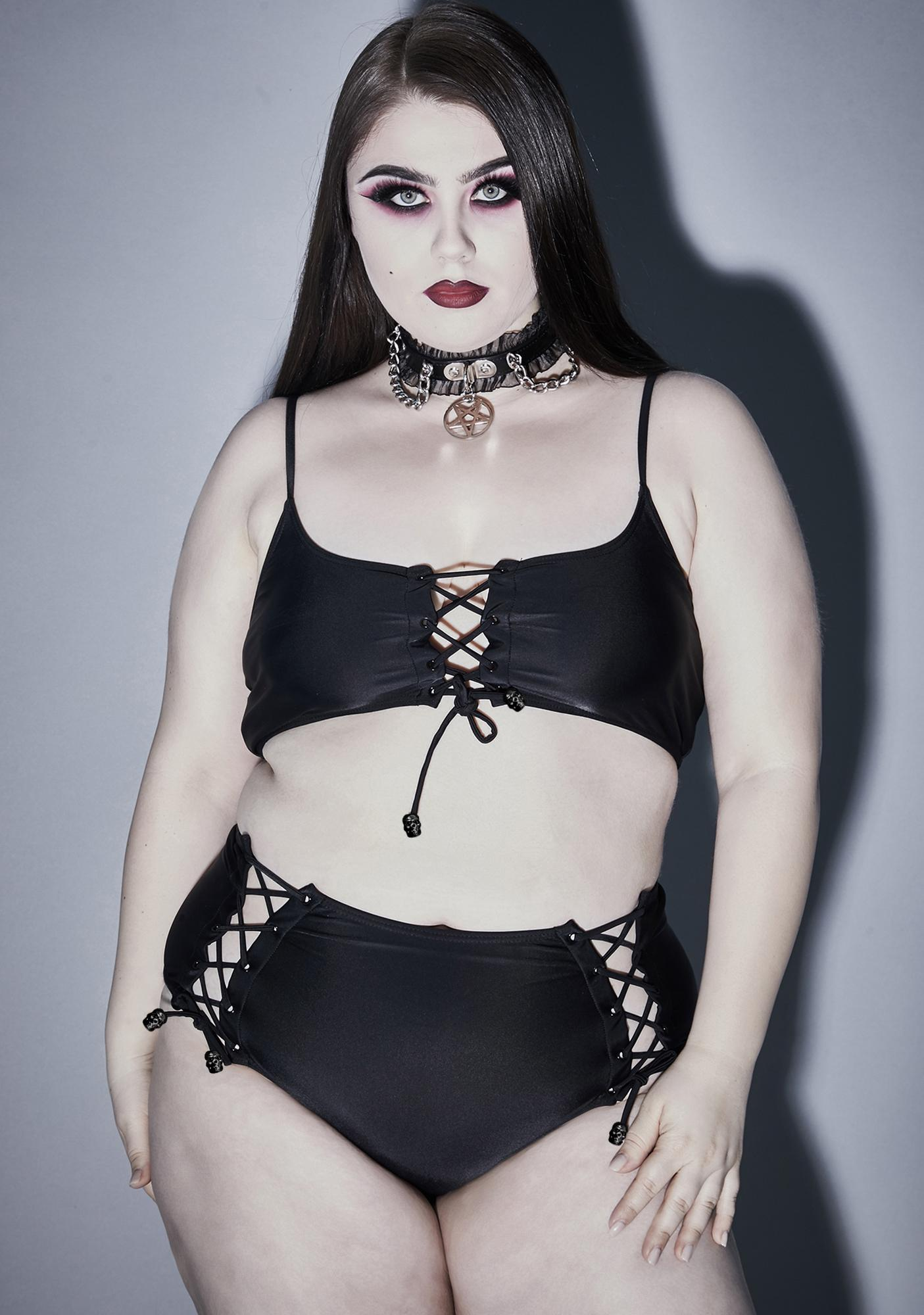 Widow Alluring Moon-Bathing Vixen Bikini Set
