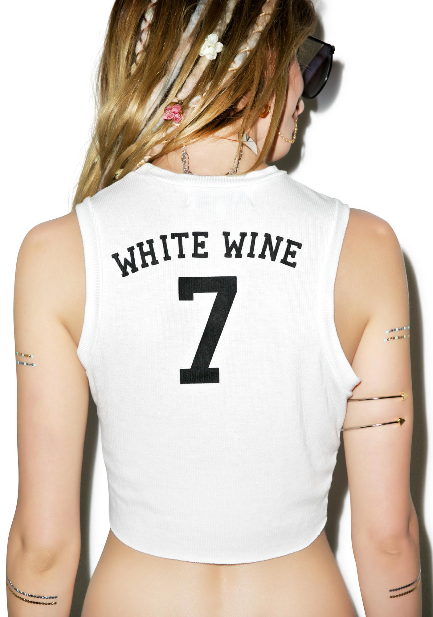 Wildfox Couture Sunshine and Wine Keaton Tank