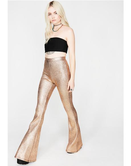 Copper Night Fever Metallic Flares