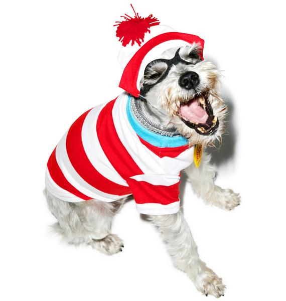 Where's Fido Dog Costume