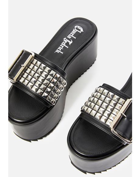 Soho Slide Platform Sandals