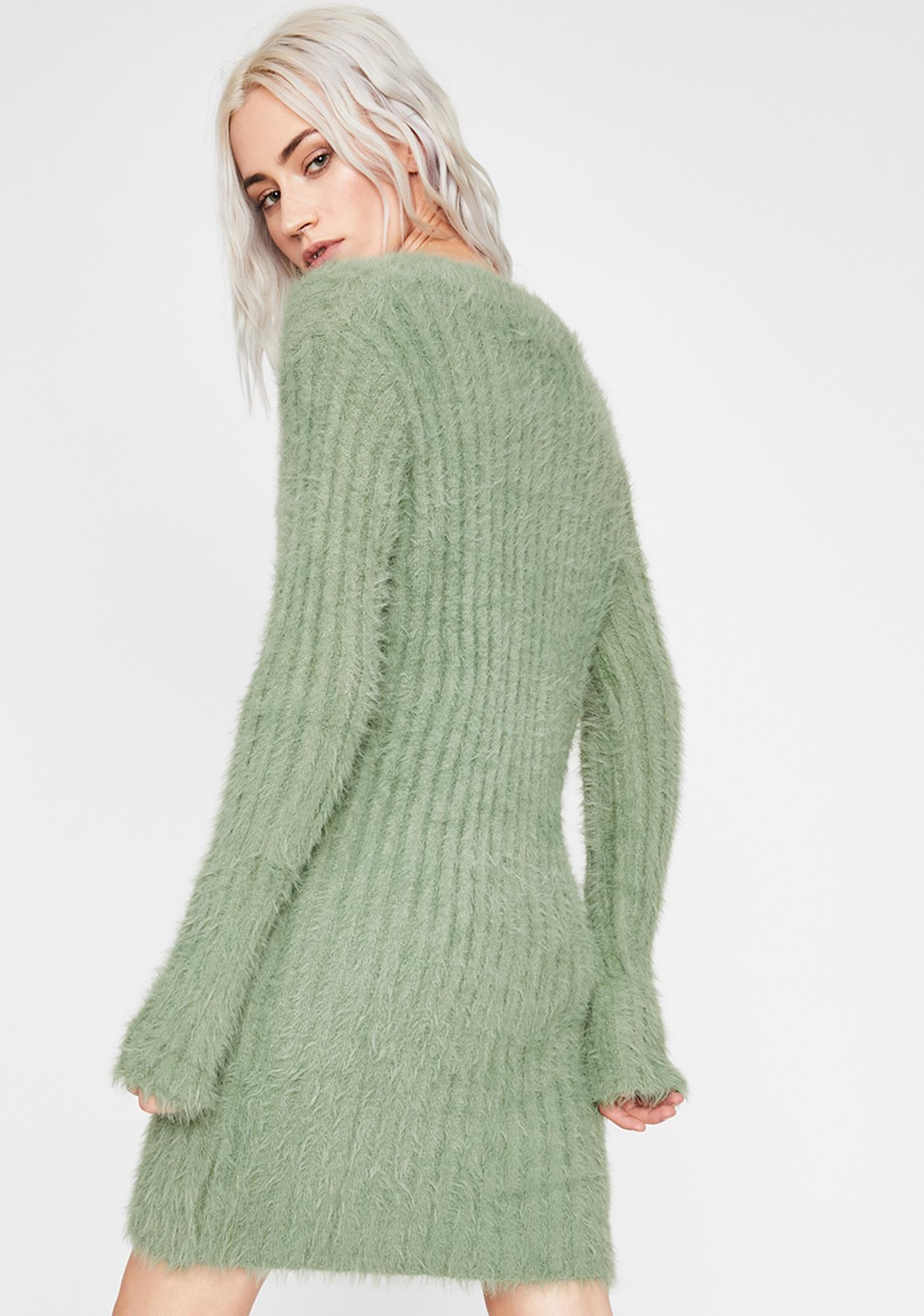 Cuddle Bug Fuzzy Sweater
