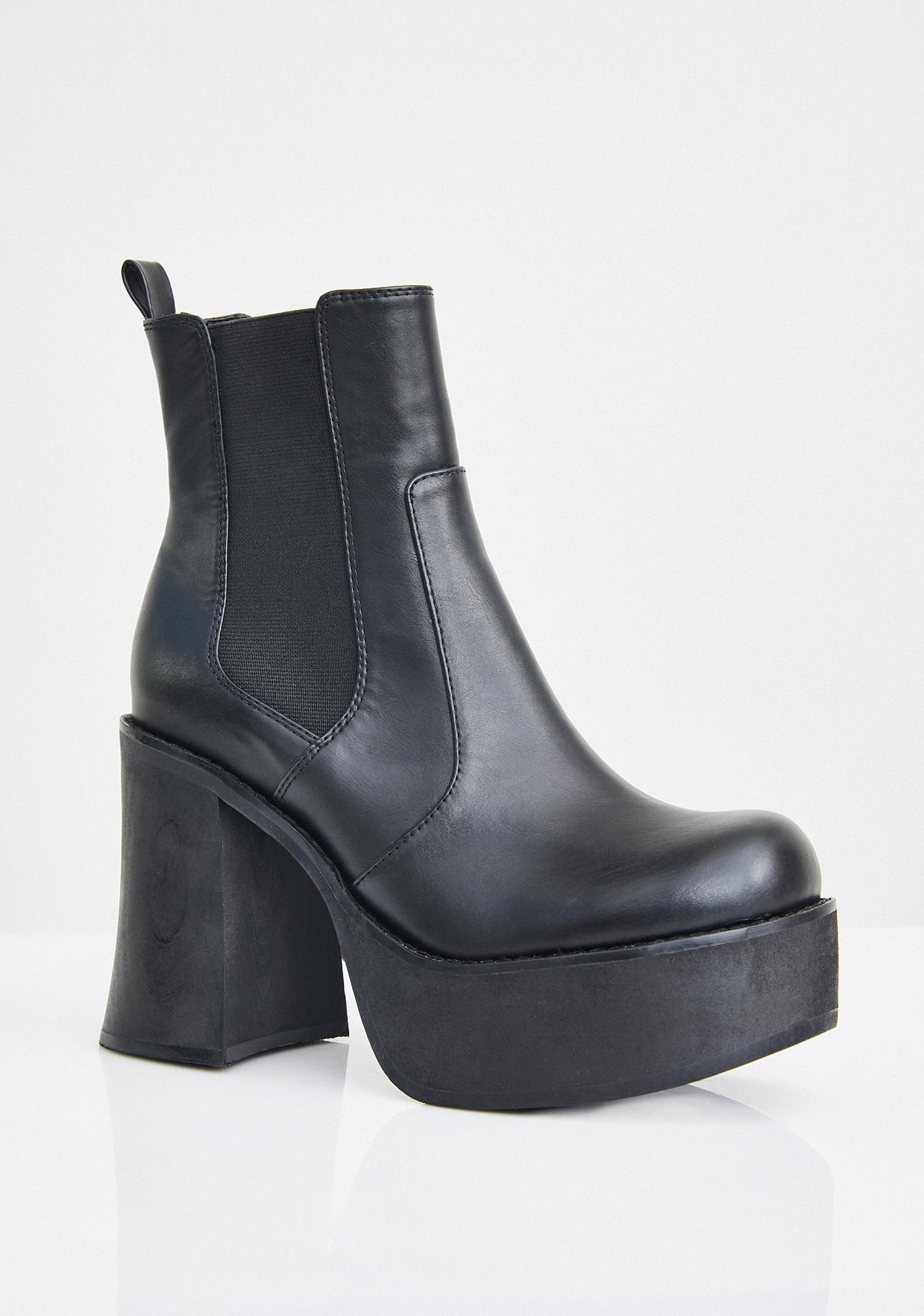 Current Mood Heavy Hittas Platform Boots