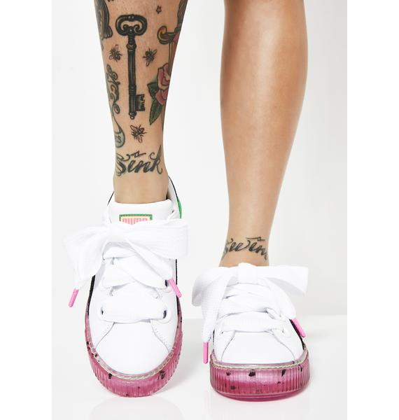 PUMA x Sophia Webster Platform Candy Princess Sneakers