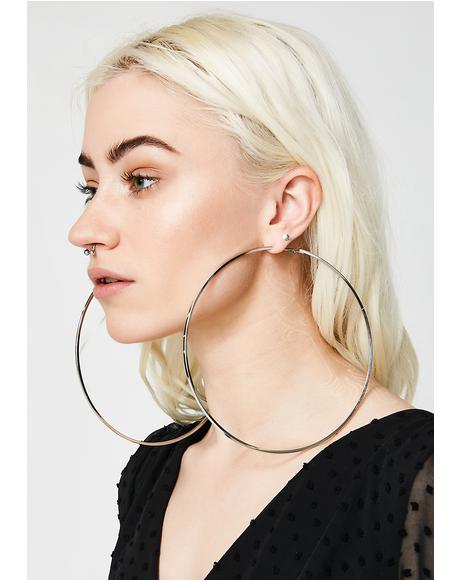 In The Ring Hoop Earrings