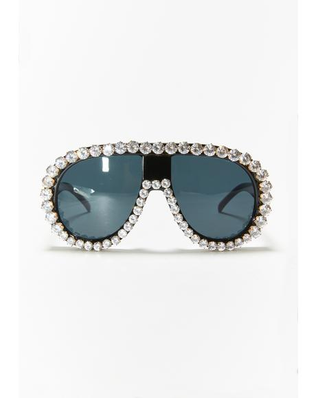 Star Player Aviator Sunglasses