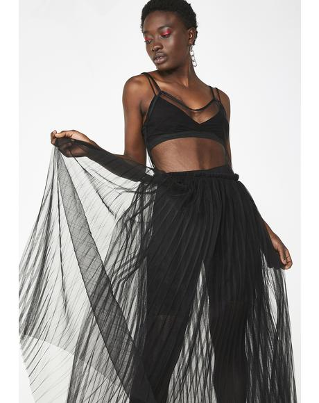 Sheer Savage Maxi Dress