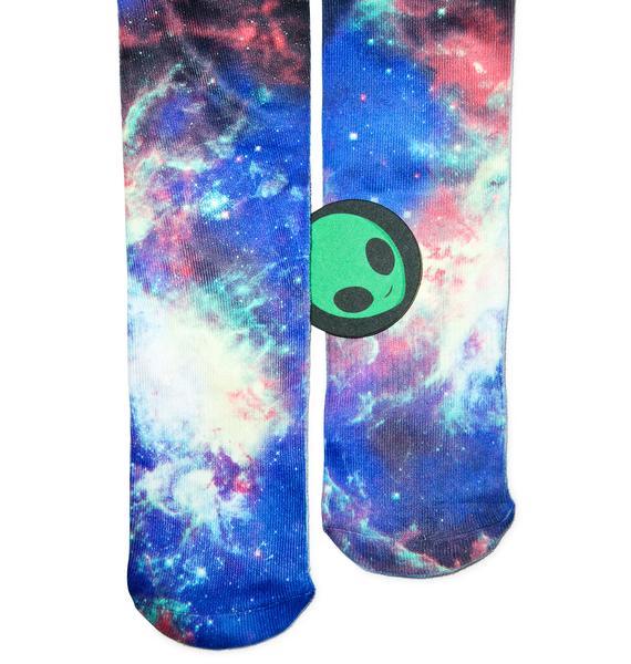 Odd Sox Nebula Knee High Socks