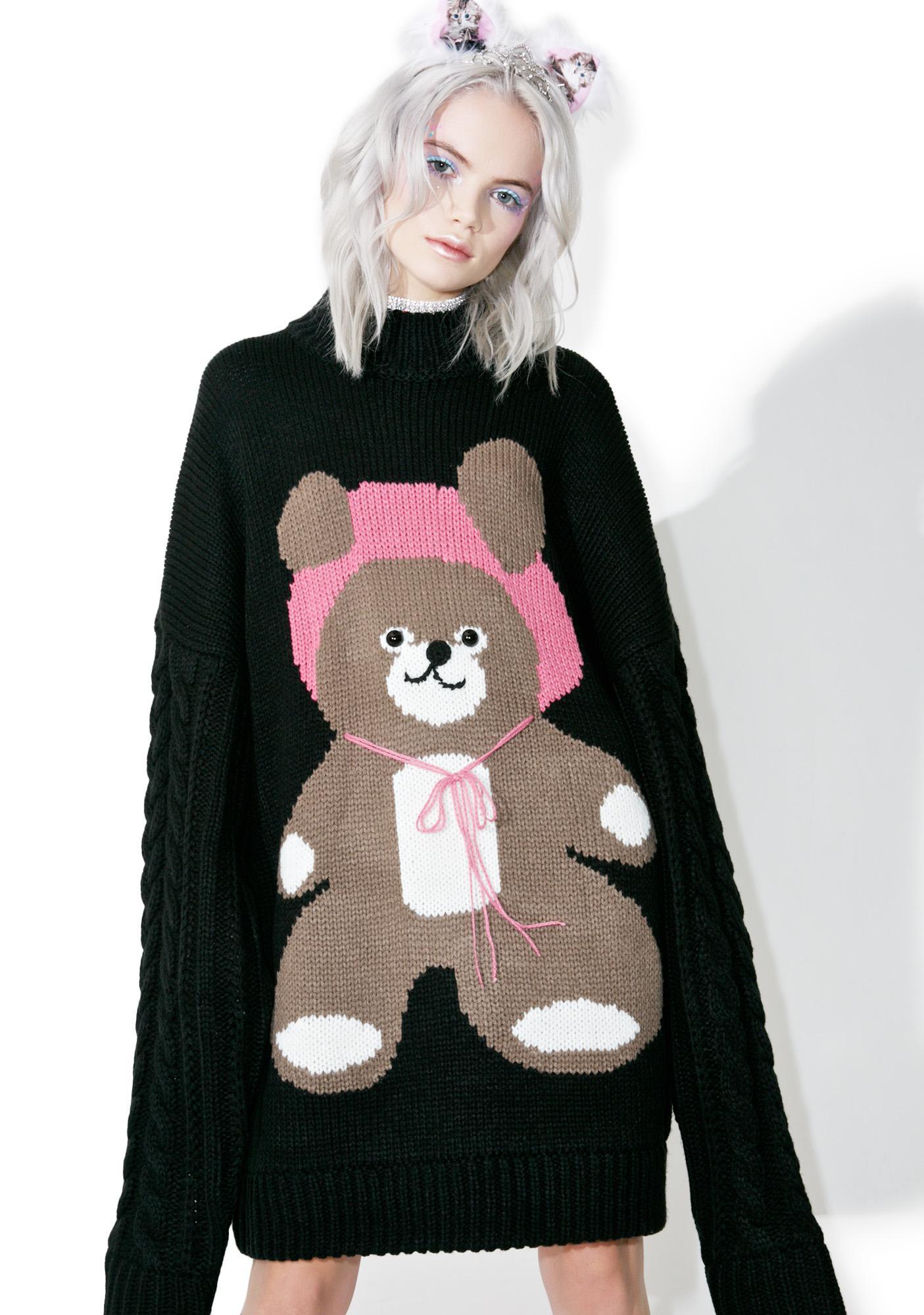 Little Sunny Bite I Am A Bear Knit Dress