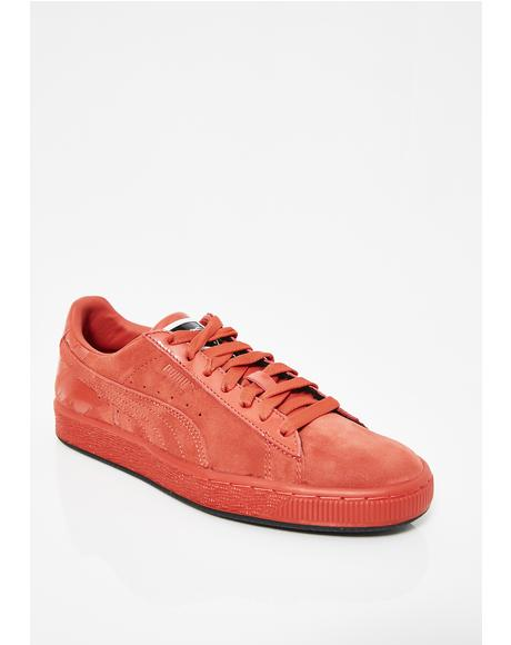 x Mac Two Suede Classic Sneakers