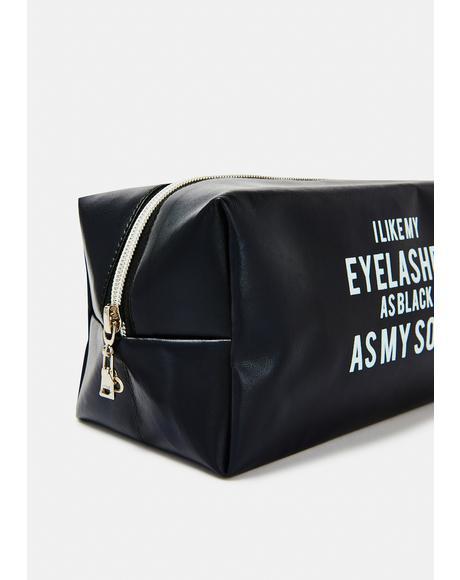 Dark Intentions Makeup Bag