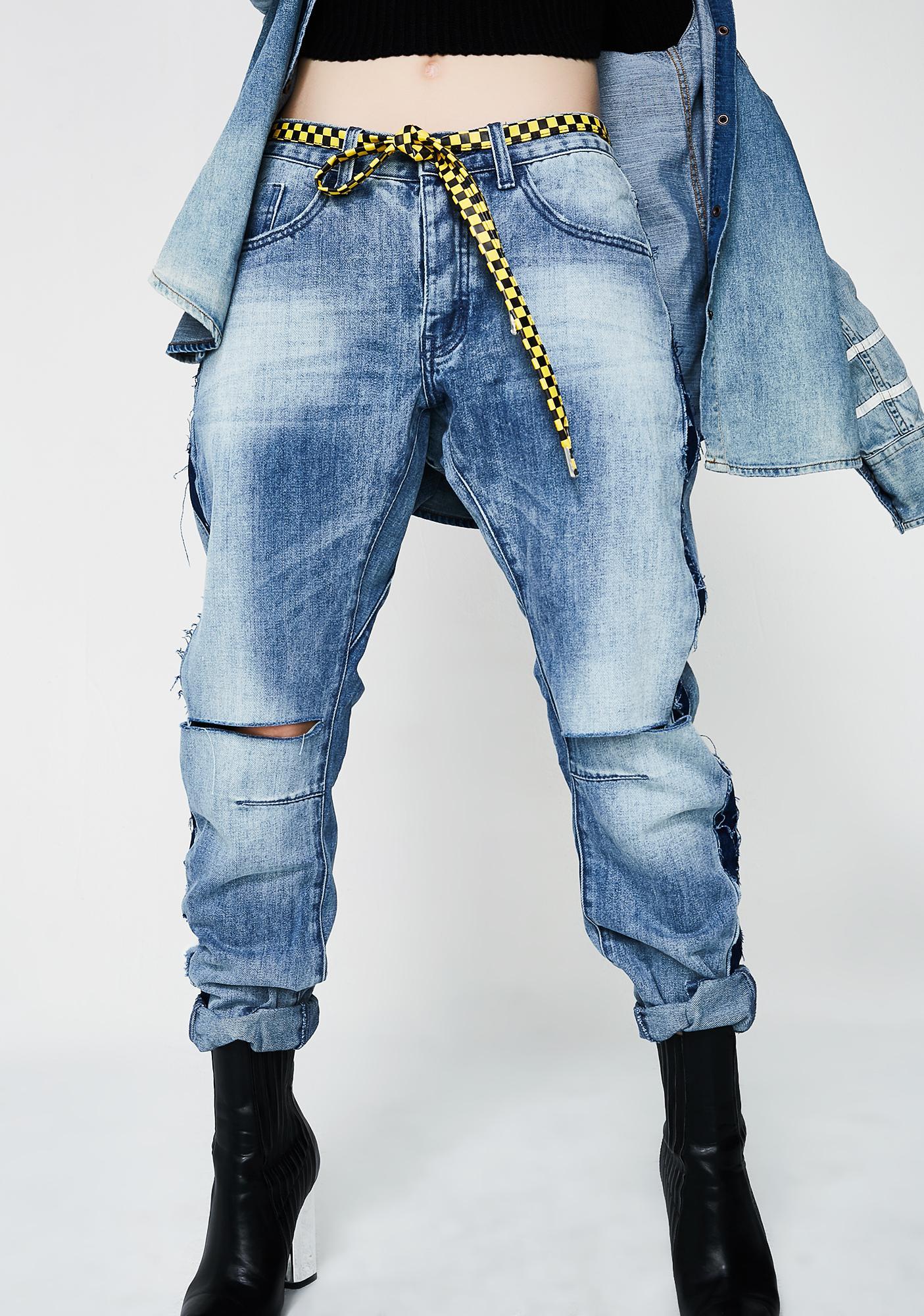 One Teaspoon Saints Boyfriend Jeans