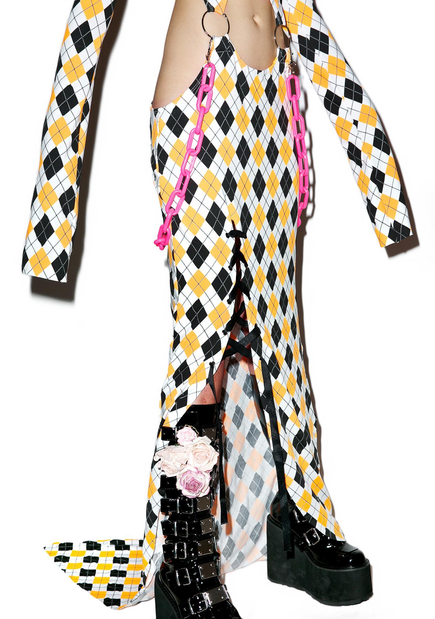 DEVOWEVO Prankster Garter Dress