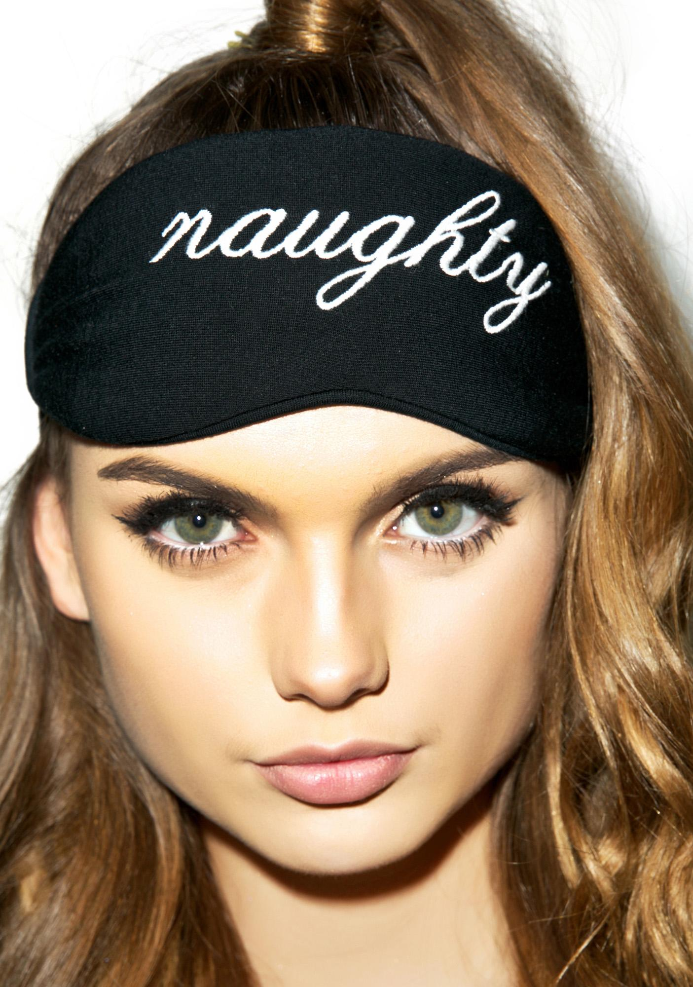 Wildfox Couture Naughty Or Nice Reversible Eyemask