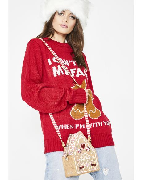 Kitsch Gingerbread House Bag
