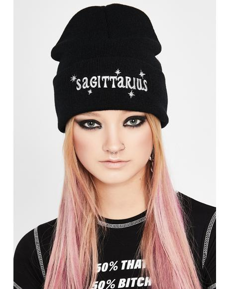 Sagittarius On The Brain Beanie