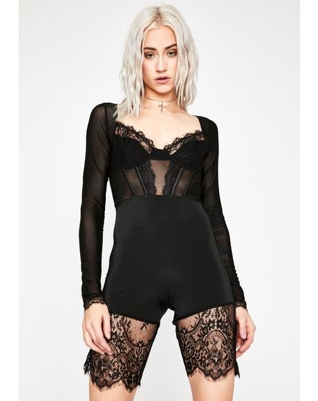 Worth It All Lace Romper