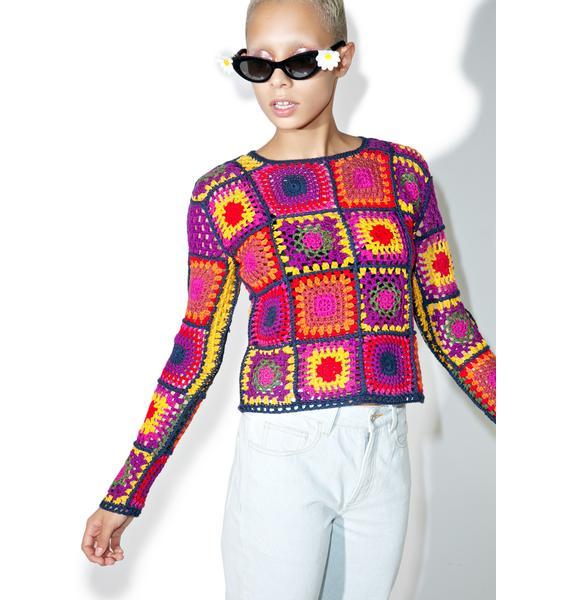 MadeMe Crochet Sweater