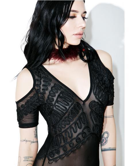 Antoinette Sheer Bodysuit