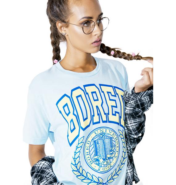 Burger And Friends Bored University Tee