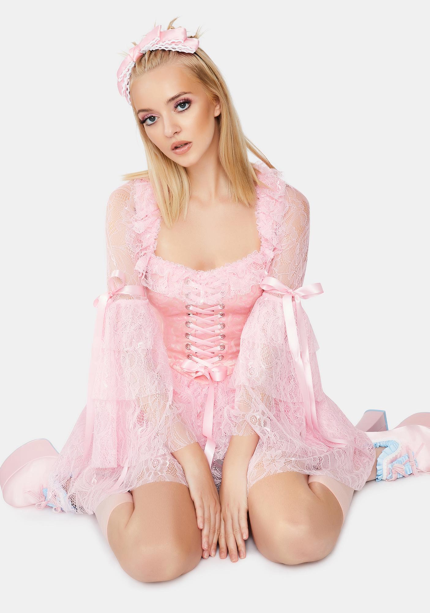 Dolls Kill They'll Eat Cake Costume Set
