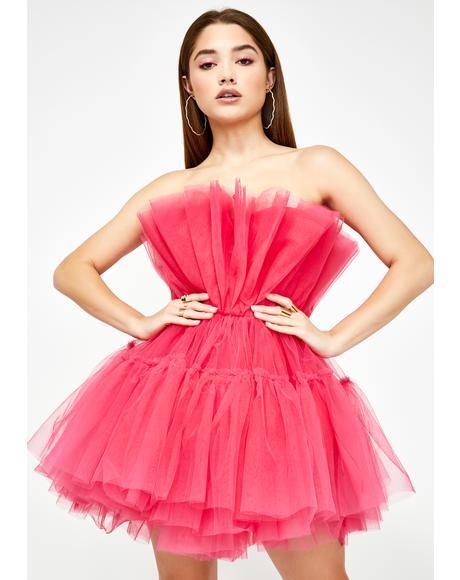 Cherry Delight Tulle Dress
