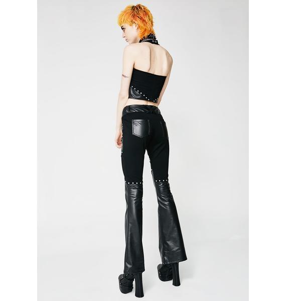 Killstar Freya Bootcut Pants