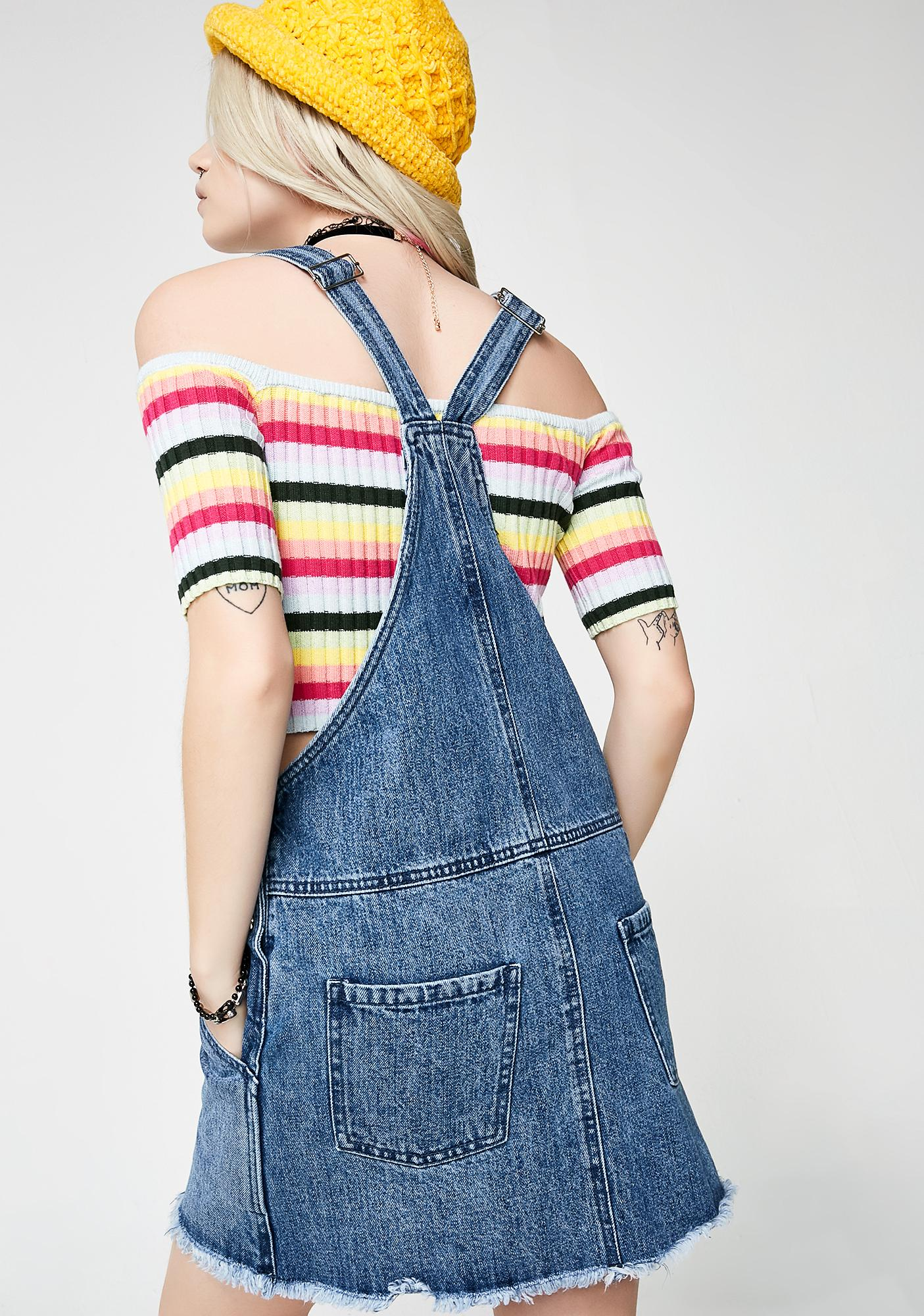 Obey Debs Overall Dress