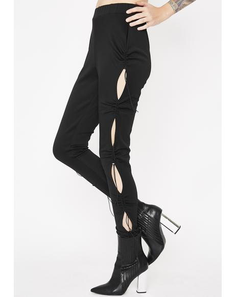 Sideshow Ruched Leggings