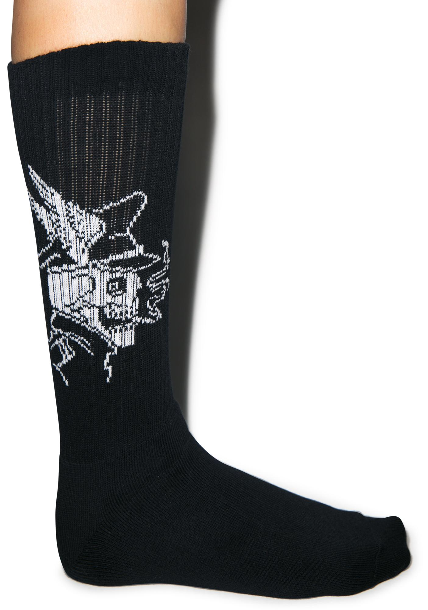 Rebel8 Ride Hard Socks